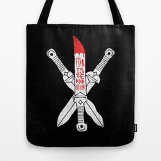 FEAR IS THE MIND KILLER - KINDJAL Tote Bag