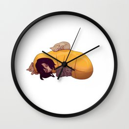 Aizawa Shoto Sleepy Wall Clock