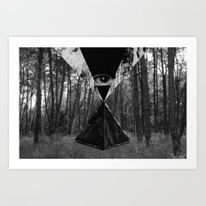 From the Eye Art Print