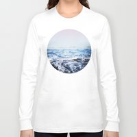 surf Long Sleeve T-shirts featuring Surf by Leah Flores