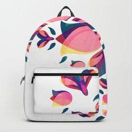 Tulip Pattern Backpack