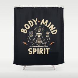 Yoga Class Shower Curtain