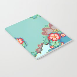 Tropical Mint Notebook