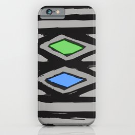 Primitive Graphic Design With Contemporary Update iPhone Case