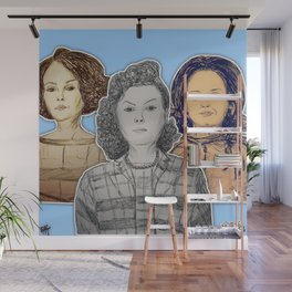 (Black Girl Power - Hidden Figures) - yks by ofs珊 Wall Mural