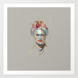 Frida Kahlo (3) Art Print