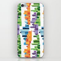 cities iPhone & iPod Skins featuring Australian Cities by S. Vaeth