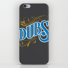 #DubNation iPhone Skin