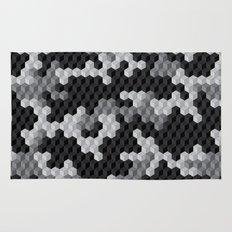 CUBOUFLAGE BLACK & WHITE Rug