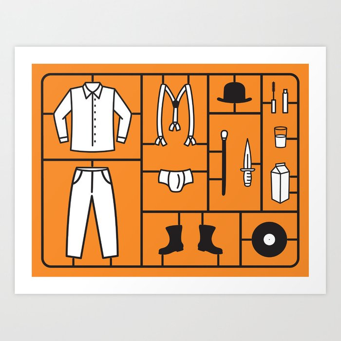 Clockwork Kit Art Print