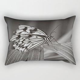 Broken Wings Mono Rectangular Pillow
