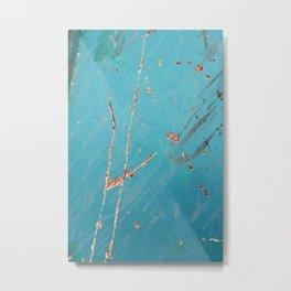 Follow the Lines - JUSTART (c) Metal Print