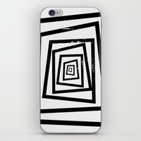 illusion iPhone & iPod Skins featuring Illusion by Janet Datu