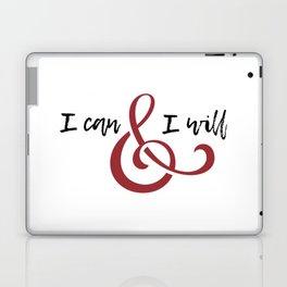 I can & will Laptop & iPad Skin