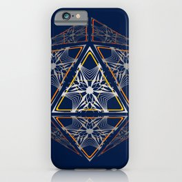 D20 Court of the High Elves iPhone Case