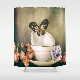 Afternoon Tea 2 Shower Curtain
