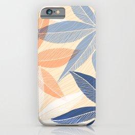 Modern Hawaiian Print II iPhone Case