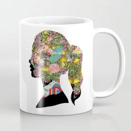 Flowery Girl Coffee Mug