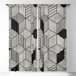 Concrete Cubes 2 Blackout Curtain