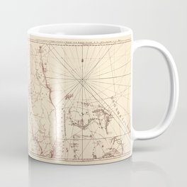Map Of Florida 1775 Coffee Mug