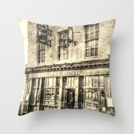 The Gipsy Moth Pub Greenwich Throw Pillow