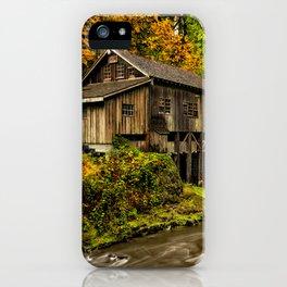 Cedar Creek Grist Mill, Washington iPhone Case