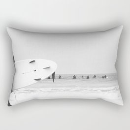 catch a wave II Rectangular Pillow