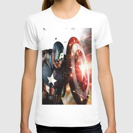 Man Of Captain In America T-shirt