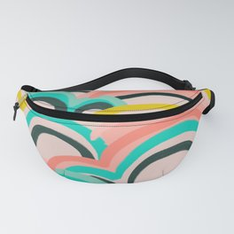 mostly cloudy Fanny Pack