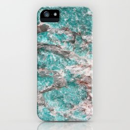 Amazonite Stone iPhone Case