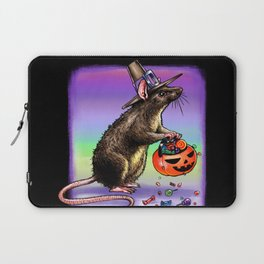 Trick or Treating Mouse Laptop Sleeve