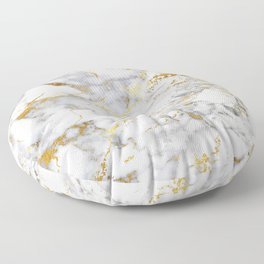 Gold Mine Marble Floor Pillow