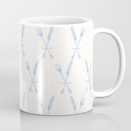 Cute set of knife and fork illustration Coffee Mug