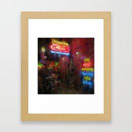 City Life Framed Art Print
