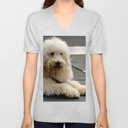 See My New Paw-dicure? Unisex V-Neck