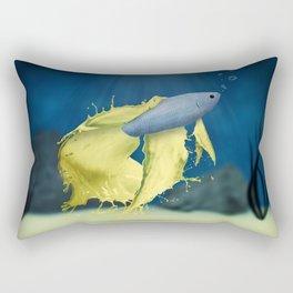 Betta Splash Rectangular Pillow