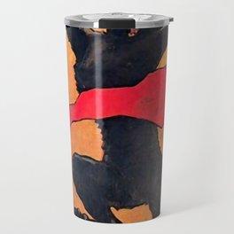 """Théophile Steinlen """"Gaudeamus"""" Travel Mug"""