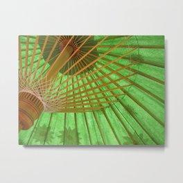 Parasol in Aix-en-Provence, France (2008) Metal Print
