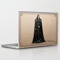 valar morghulis Laptop & iPad Skins featuring Melkor by wolfanita