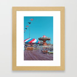 By the Sea side Framed Art Print