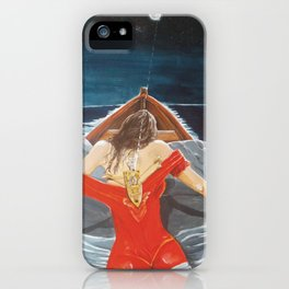 The whims of the moon iPhone Case