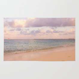 Dreamy Beach View Rug