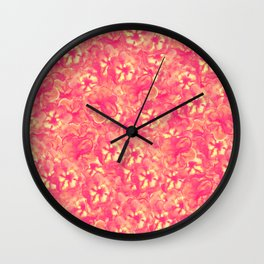 Bloomed Wall Clock