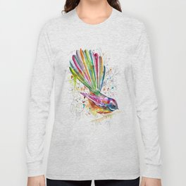 Sketchy Fantail Long Sleeve T-shirt