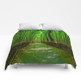 Bamboo Trail Comforters