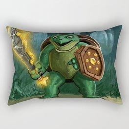 Turtle Paladin Rectangular Pillow