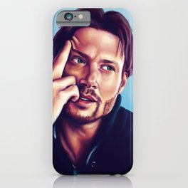 Jensen Ackles/Dean Winchester long hair iPhone Case