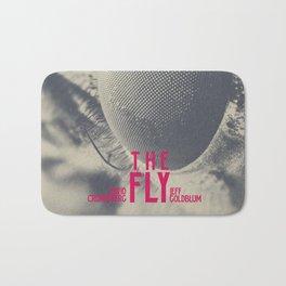 The Fly, horror movie poster, David Cronenberg, Jeff Goldblum, alternative playbill Bath Mat