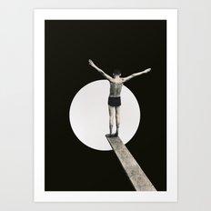 Risk (2015) Art Print
