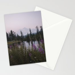Wildflowers at Picture Lake Stationery Cards
